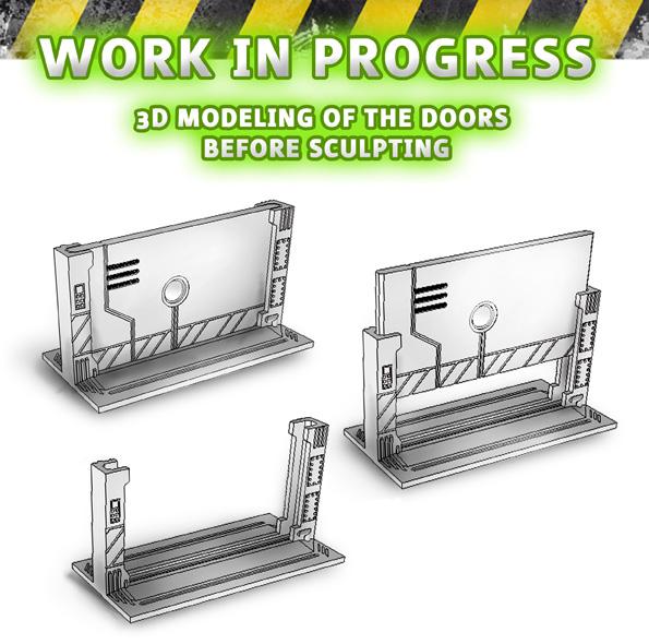 Concepte porte 3D Escape
